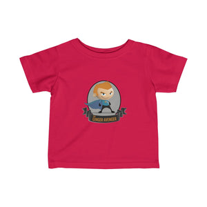 The Ginger Avenger - Male - Infant Fine Jersey Tee