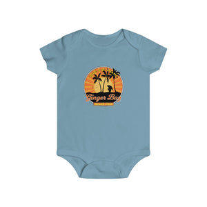 Ride The Shade, Baby!  Ginger Bay Beach Club - Infant Rip Snap Tee