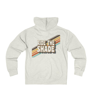 Ride the Shade - Unisex French Terry Zip Hoodie