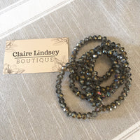 Lauren Shimmering Bead Bracelet - Ashley Claire Boutique