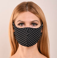 Black Dot Double Layer Mask