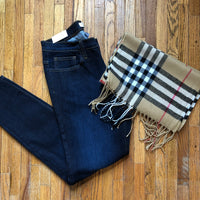 Dark Wash Skinny Jean - Ashley Claire Boutique