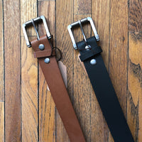Whiskey Ainsley Vintage Leatherette Belt - Ashley Claire Boutique