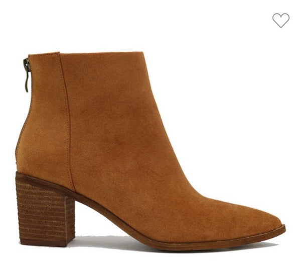 Symone Camel Ankle Boots