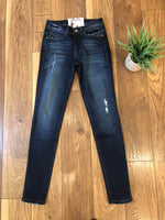 Distressed Ankle Jeans - Ashley Claire Boutique