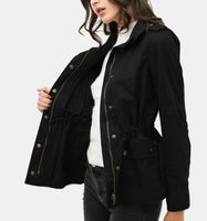 Candice Black Utility Jacket