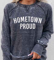 Vintage Grey Hometown Proud Crew Neck Sweatshirt