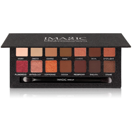 14 Color Matte Nude Eye Shadow Palette