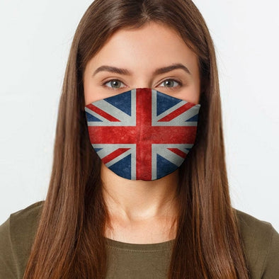 UK Flag Face Cover