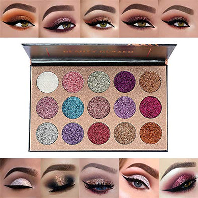 15 Color Diamond Bright Eyeshadow