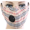 Reusable Cotton Mask with Valve and Filter PM2.5