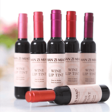 Wine Liquid Lipstick 6 Piece Set