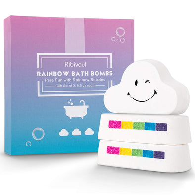 Rainbow Bath Bomb Gift Set