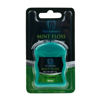 Dental Floss By DentAdvance: Interdental & Gum Cleaning Floss For Plaque Removal & Oral Hygiene, Easy Reach & Deep Cleansing