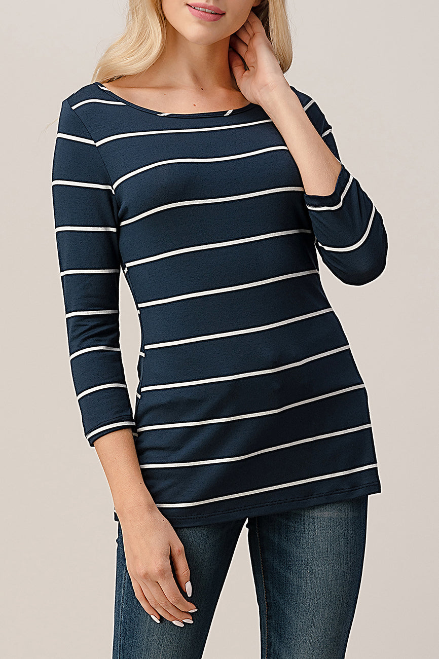 Stripe Modal Top T400
