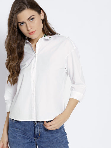 Women White Shirt