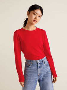 Red Sweater - Round Neck