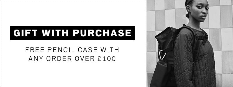 Get a free pencil case with any order over £100