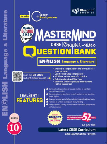 Master Mind CBSE Chapter-wise Question Bank English Language & Literature 10