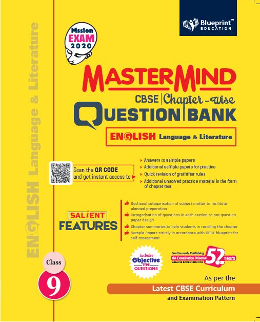 Master Mind CBSE Chapter-wise Question Bank English Language & Literature 9
