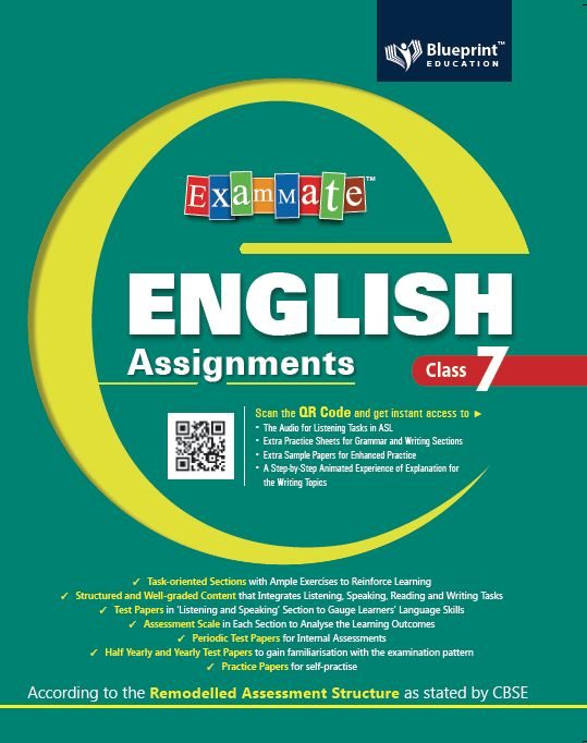 Exam Mate English Assignments 7