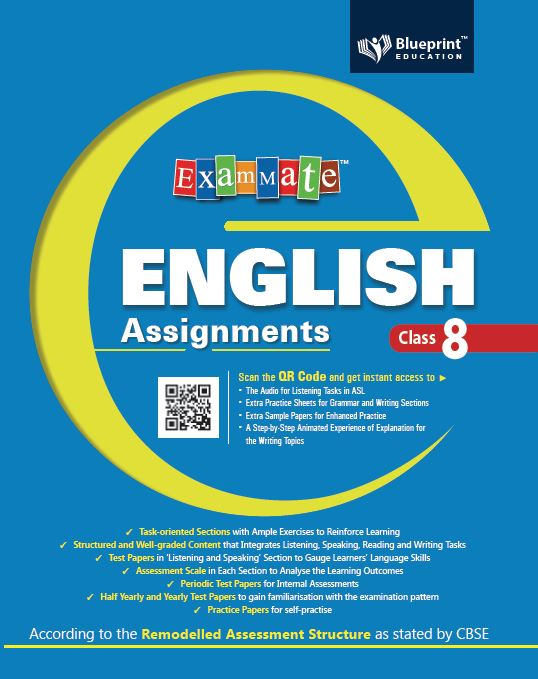 Exam Mate English Assignments 8