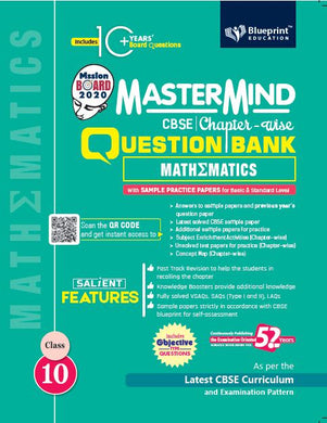 Master Mind CBSE Chapter-wise Question Bank Mathematics 10