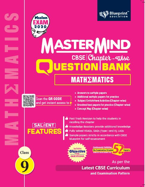 Master Mind CBSE Chapter-wise Question Bank Mathematics 9