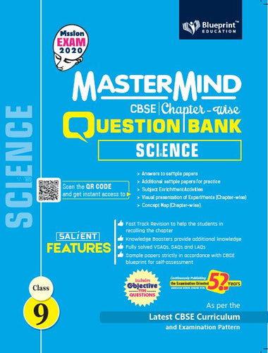 Master Mind CBSE Chapter-wise Question Bank Science 9