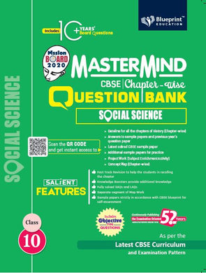Master Mind CBSE Chapter-wise Question Bank Social Science 10