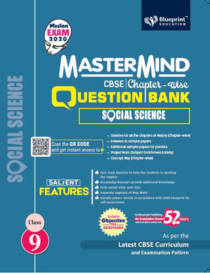 Master Mind CBSE Chapter-wise Question Bank Social Science 9