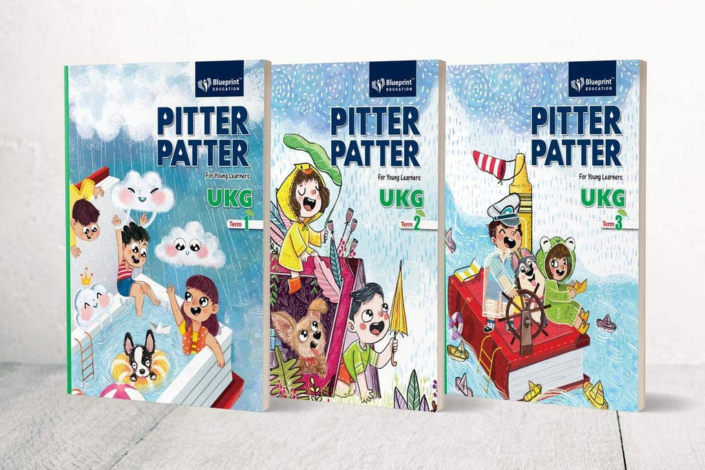 PITTER PATTER  UKG Term Book (Term 1,2, & 3)