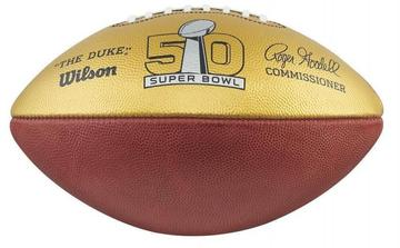 Wilson Golden Anniversary Super Bowl Commemorative Football