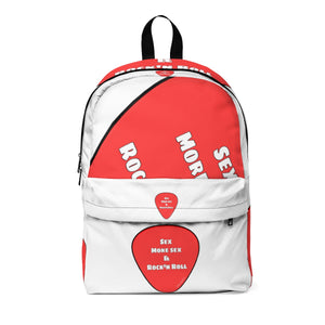 Unisex Classic Backpack Guitar pick