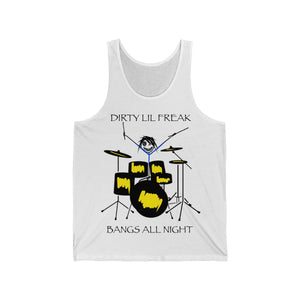 Unisex Jersey Tank DLF Drummers bang