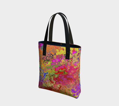 Tote bag Colorful abstract