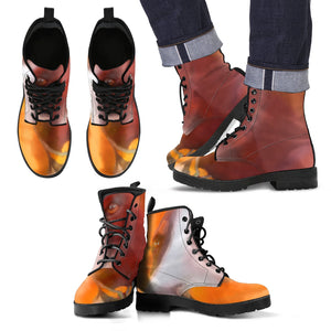 Men's leather boots Hound dog leather