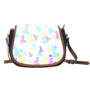 Leather saddle bag surfer 3 color