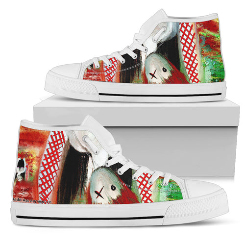 Women's high Top Shoes candy kid wh