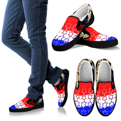 Men's slipons shoes Gunshells