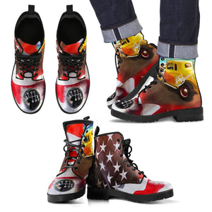 Men's leather boots Patriotic3 leather