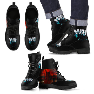 Men's leather boots Grindcore 2