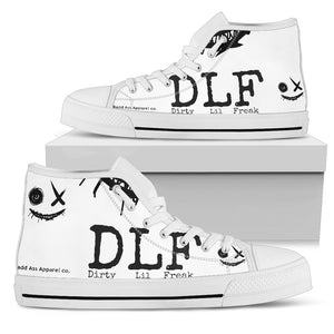 Women's high Top Shoes DLF w face wh