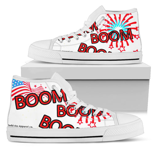Women's  high Top Shoes /boom wh
