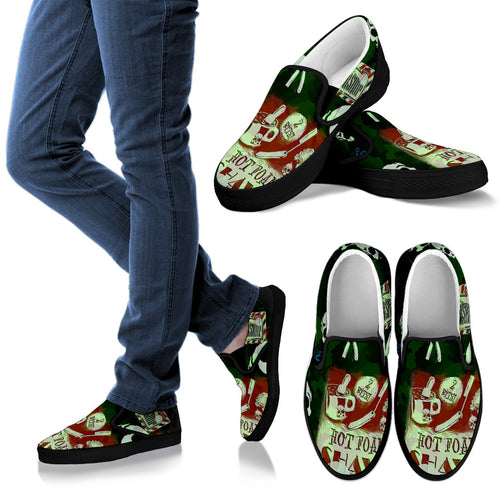 Men's slipons shoes Barber Camo
