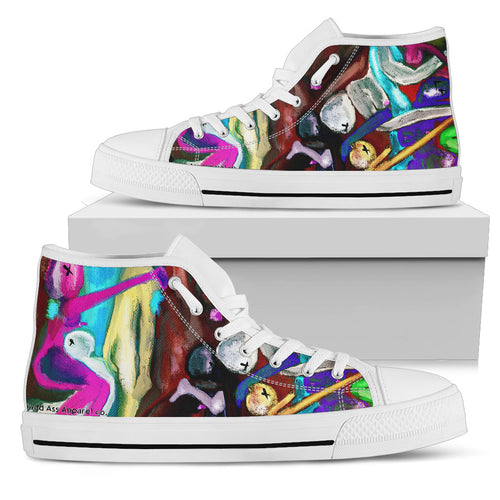 Men's high Top Shoes beautiful freaks wh