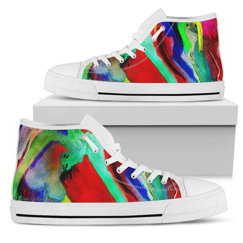 Men's high Top Shoes intoxicated wh