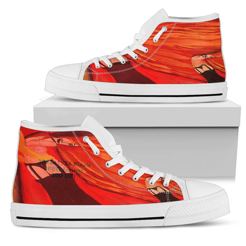 Men's high Top Shoes firewoman wh