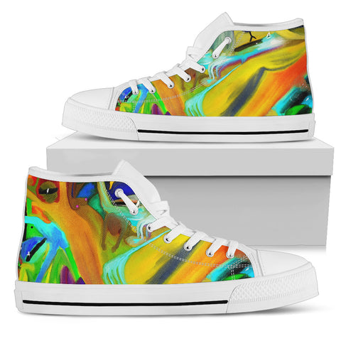 Men's high Top Shoes wicked waters wh