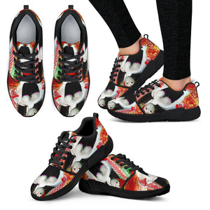 Women's Athletic sneakers candy kid blk bottoms